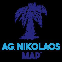 Agios Nikolaos Map – by MasterFold S.A Λογότυπο